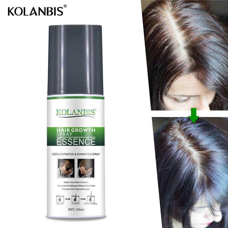3 botellas de ginseng estimulan el crecimiento suero spray para la caída del pelo folículo cuero cabelludo tratamiento hombre crecimiento espesante producto recrecimiento - 5