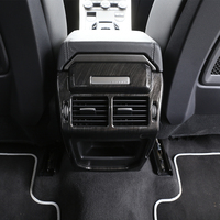 For Land Rover Range Rover Evoque Dark Wood Grain Car Interior Accessories Rear Air Conditioning Vent