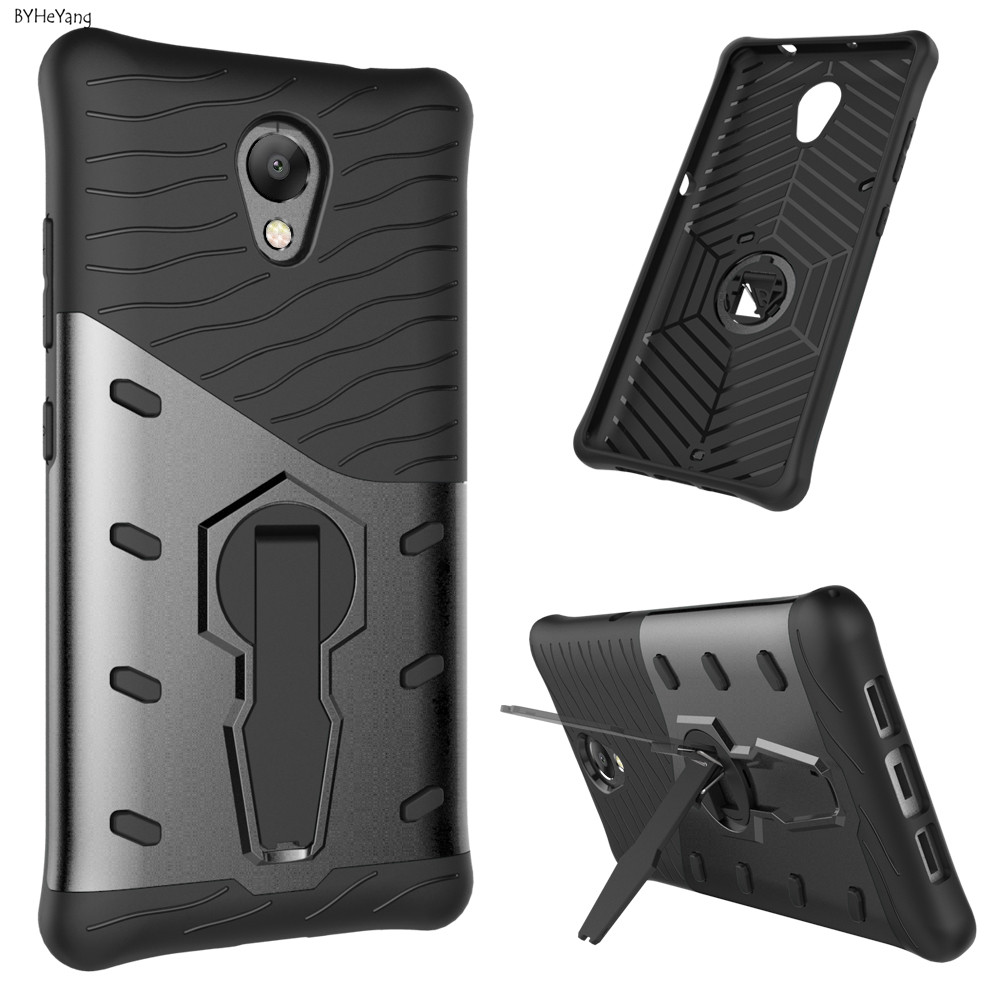 For Lenovo P2 Case 5.5inch Luxury 360 Anti-konck with stand Armor Protective Shell For Lenovo Vibe P2 P 2 P2C72 Phone Case