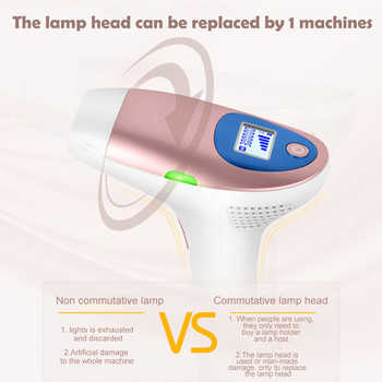 Electric IPL & Laser Epilator 3 Types Permanent Painless Hair Removal Face Body Armpit Bikini Home Device FDA Approved