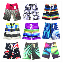 Wholesale/retail 2017 New Hot Mens Shorts Board Shorts Summer Beach Homme Bermuda Short Pants Quick Dry Silver Sexy Boardshorts