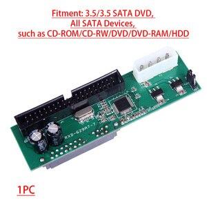 Image 4 - Pata ide para sata conversor de adaptador de disco rígido 3.5 hdd paralelo a serial ata converte sata para pata/ata/ide/eide