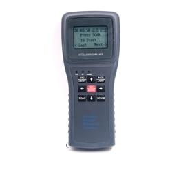 Lector portátil de tarjeta de memoria de larga distancia de 134,2 KHz, escáner de Microchip para animales, lector de etiquetas para oreja de Animal, lector manual ISO11785/84 FDX-B