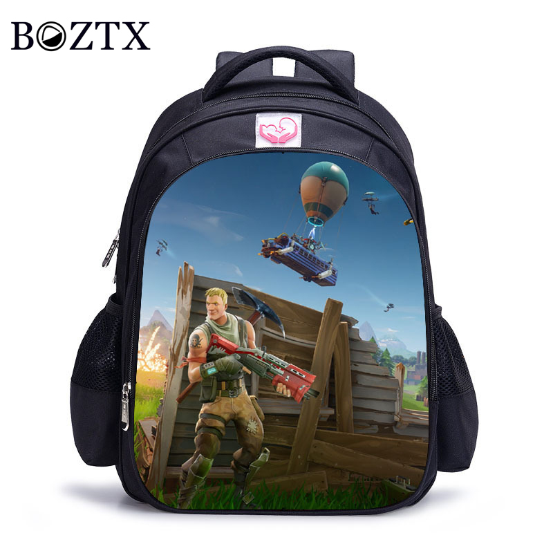Children Schoolbag Kindergarten Backpack Boy Cute Fortni Cartoon Backpack Hot Game Backpack School Bags for Boys and Girls hot sale girls boys cartoon children school bags cute drawstring masha