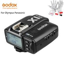 Lo nuevo Godox X1T-O TTL Flash Trigger 1/8000 s HSS 32 Canales 2.4G Transmisor del Disparador de Destello Sin Hilos del LCD para Olympus Panasonic