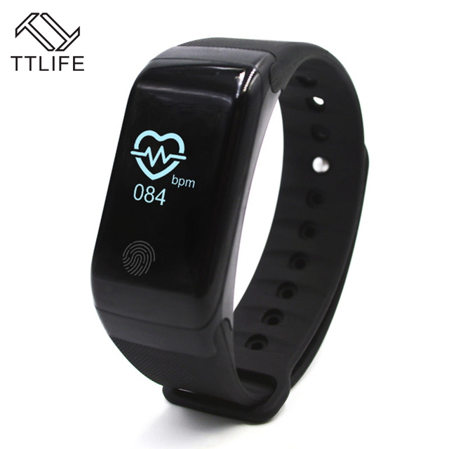 TTLIFE New X7 Heart Rate Smart Band Touch Screen Swim Wristbands Fitness Tracker Heart Rate Monitor Bracelet For Android IOS