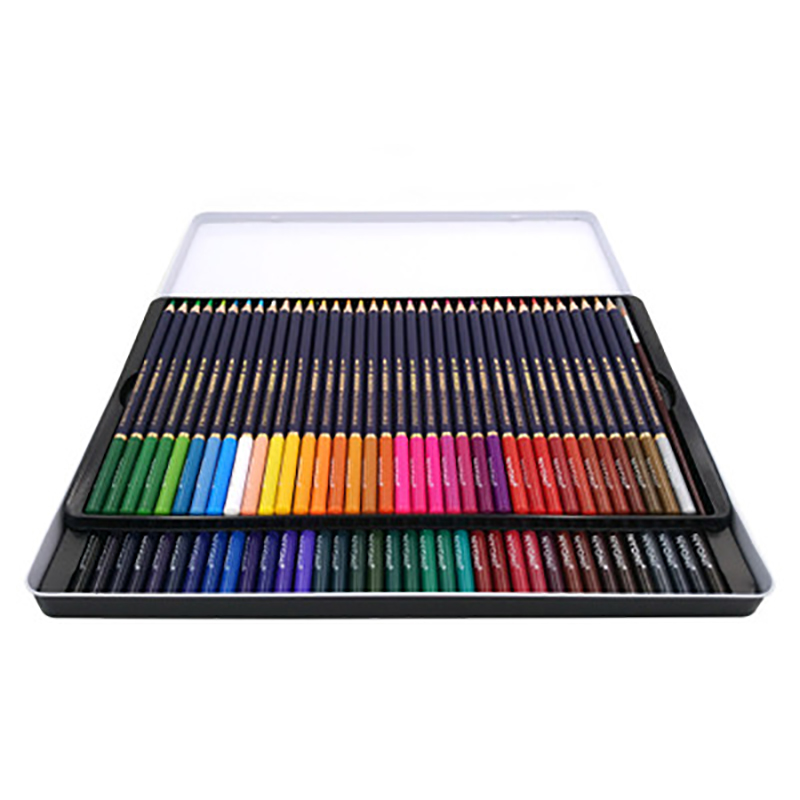 12/24/36/48/72 Colors Soft Core Watercolor Pencil Lapis Professional Water Soluble Colored Pencils For Art School Supplies Gift