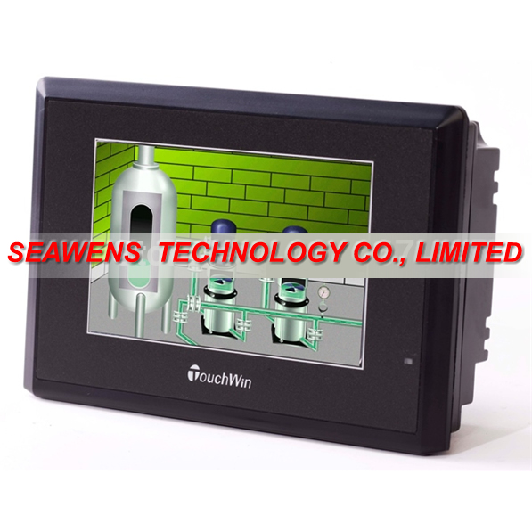 TE765-MT : 7 Inch HMI Touch Screen 800x480 TE765-MT with free USB program download Cable,fast shipping
