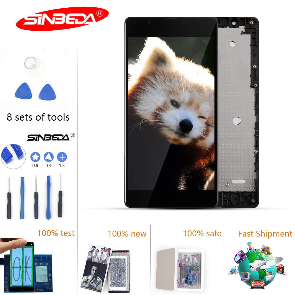 Sinbeda LCD For NOKIA <font><b>Microsoft</b></font> <font><b>Lumia</b></font> <font><b>540</b></font> LCD Touch <font><b>Screen</b></font> Digitizer with Frame <font><b>Replacement</b></font> For NOKIA <font><b>Lumia</b></font> <font><b>540</b></font> Display RM-1141 image
