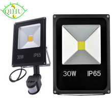 Outdoor Floodlights PIR  LED Flood lights with Motion Sensor  10W 20W 30W 50W Reflector IP65  AC110V 220V  Garden Lamp