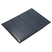 12V 1.5W Epoxy Solar Cells Solar Panel Mini Polycrystalline Silicon Solar DIY Battery Charger Solar Module System 115x85mm