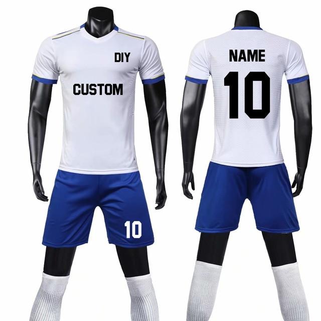 d617978a12d Men Women Soccer Jersey Sets Survetement Football Jerseys 2019 Adult Sport  Kit Training Suit Futbol Team