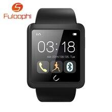 Uwatch U10Lบลูทูธสมาร์ทนาฬิกาโทรศัพท์กันน้ำMTK6260 S Mart W Atch RelógioสำหรับA Ndroid iOSแอปเปิ้ลiPhone PK U8 U9 GT08 DZ09