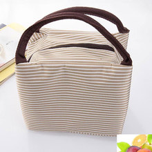 Lunch bag insulation package portable waterproof canvas lunch bags