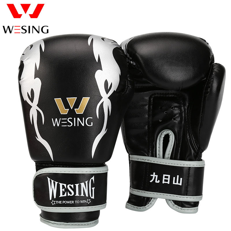 Kids Wesing Kick Boxing Boxing Muay Thai Sandbags Doreza Fëmijët doreza boksi Fitness Equipment 6oz