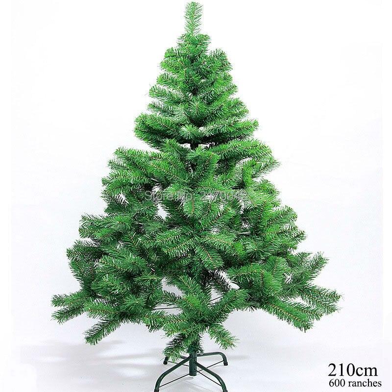 heymamba 800 ramas artificiales fuentes de la decoracin de navidad rbol de navidad 210 cm feliz