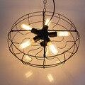 "American Industrial 21"" Loft Metal fan-shape Chain Pendant Lamp Creative Bar Counter Kitchen Dining Room Restaurant Pendant Lamp"