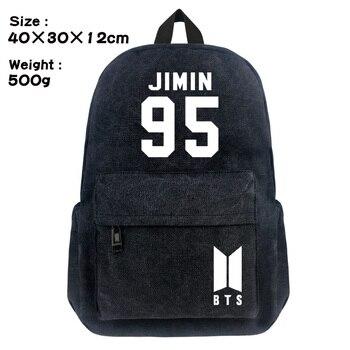 Рюкзак BTS Bangtan черный в ассортименте 1