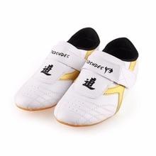 1 пара таэквондо обувь Мягкая каратэ тхэквондо KONGFU борцовка обувь спортивная обувь Новинка Высокое качество