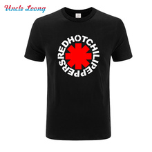 Casual short sleeve 100% cotton funny Punk Rap Alternative Rock And Roll Red Hot Chili Peppers Men T shirt o-neck tops t shirts