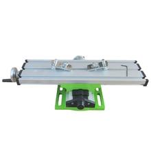 Координатного прецизионный xy регулировки тиски приспособление скамейке оси фрезерный рабочий стола