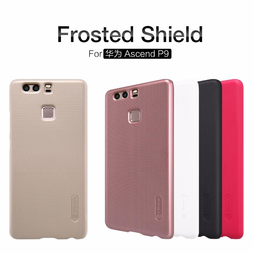 Huawei Ascend P9 Huawei P9 fodral skal NILLKIN Super Frosted Shield - Reservdelar och tillbehör för mobiltelefoner - Foto 1