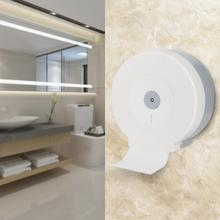 Bathroom Toilet Paper Holder Round Plastic Towel White Tissue Rack Home Hotel Roll Wall Hanging