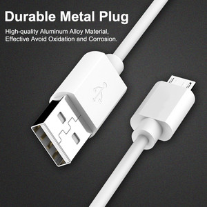 Image 3 - 1m USB Cable For Samsung S10 Xiaomi 2.4A Fast Charging USB Charger Data Cable For iPhone X XS Max XR 8 7 Plus USB Charger Cord