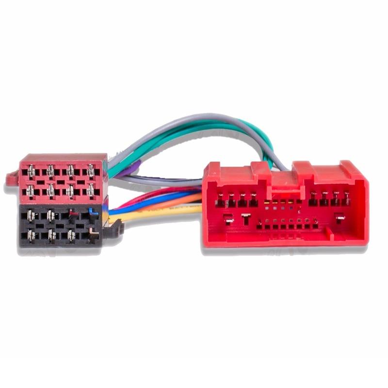 Car ISO Radio Plug Adapter Wiring Cable for MAZDA MPV 323 626 BT50 CX-7 ab Baujahr B-Series Demio MX-5 RX-8 Millenia Premacy