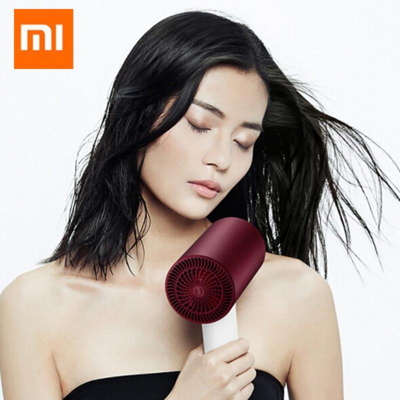 D'origine Xiaomi Soocare Soocas H3S Anion Sèche-Cheveux Corps En Alliage D'aluminium 1800 W Sortie D'air Anti-Chaude Innovante Détournement conception