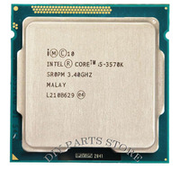 Intel Core i5 3570k i5 3570k 3.4GHz/ 6MB Socket 1155 CPU Processor HD 4000 Supported memory