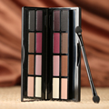 New Arrive 8Colors Brand Naked Makeup Matte Eyeshadow Palette Smoky Eyes Natural Shimmer Eye Shadow Powder With Brush Earth Tone