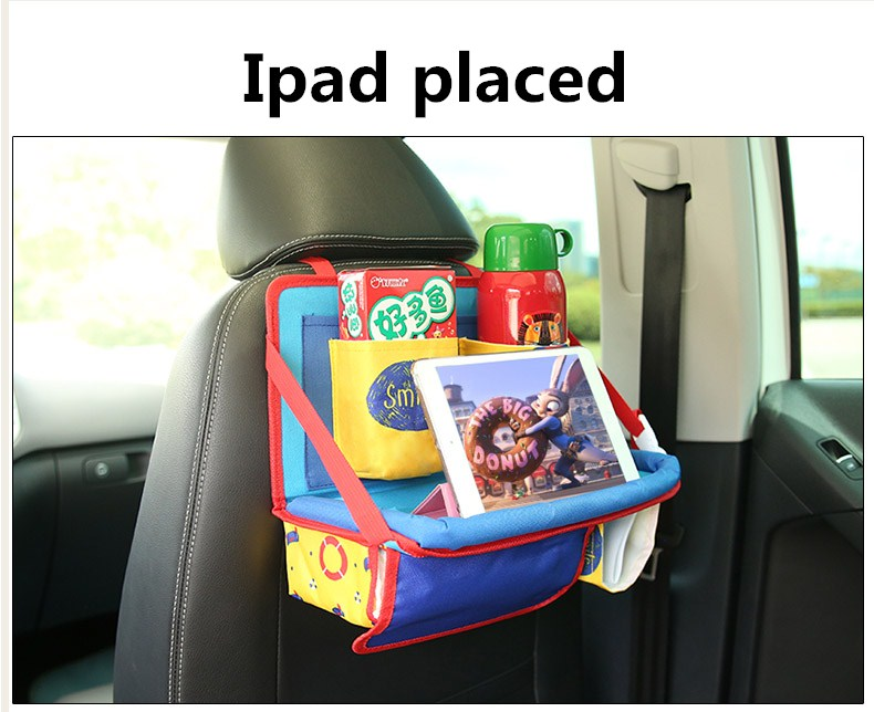 Car Backseat Storage Bag For Kids, Child Dining Table