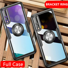 Luxury Ring Shockproof Soft Phone Case On The For Huawei P20 Pro P20 S
