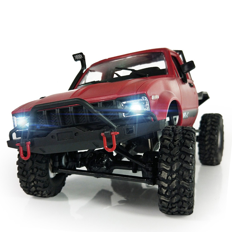 2.4G Remote Control Military Car 1:16 Four-wheel Drive Linked Off-road RC Climbing Car Toy For kids C14