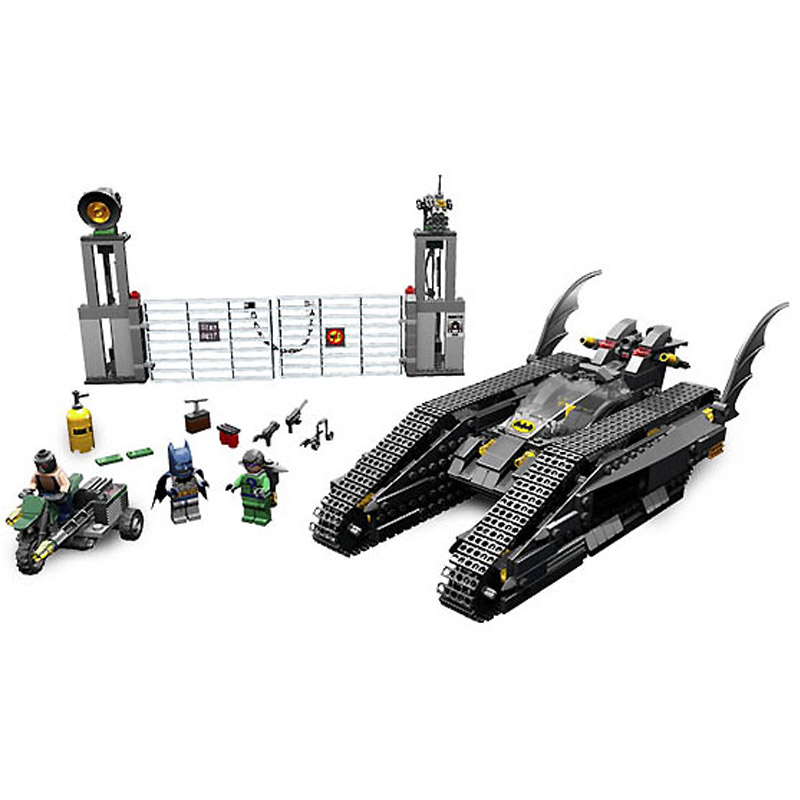 Decool 7108 506pcs Super Heros Series Bat tank Model Building Block set Bricks Toys For children Boys Gift