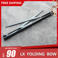 2019 LX folding bow outdoor most portable hunting weapon survival take-down bow and archery shooting bow fishing 60lbs instock