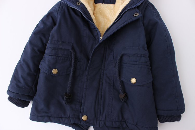 New winter children down & parkas 2-9Y European style boys girls warm outerwear color green blue hooded coats for girls 13