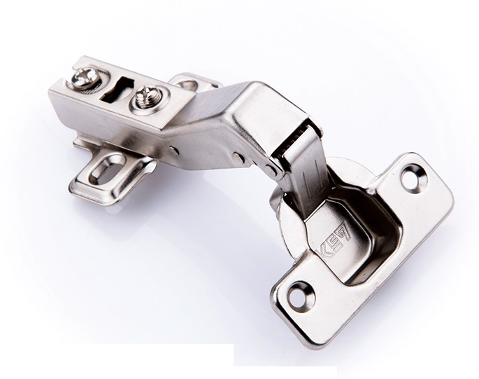 6pcslot 45 degrees hydraulic soft close hinges screw on european concealed corner diagonal cabinet hingein cabinet hinges from home improvement on