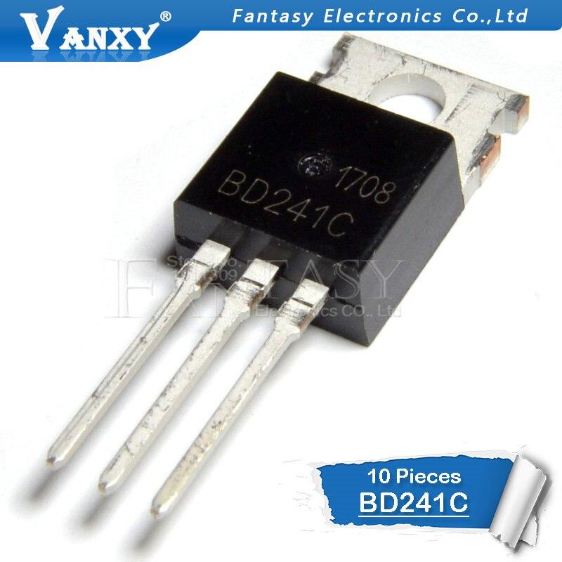10 PCS BD241C TO-220 BD241 TO220 241C10 PCS BD241C TO-220 BD241 TO220 241C