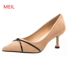 Pointed Toe Fine Nude Heels Black Pumps Women Shoes Elegant simple Sexy Thin Straps Party High Heels Ladies Pumps Wedding Shoes 2016new fashion sole red bottom high heels sexy women shoes pointed toe black red nude pumps wedding party ladies zapatos mujer