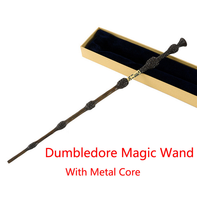New hot sale 1 pcs new metal core albus dumbledore magical for Light up elder wand