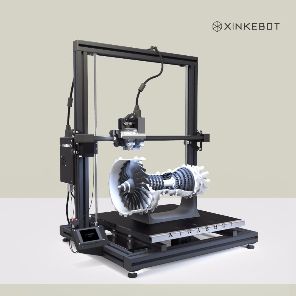 Large 3D Printer Dual Extrusion 3D Printer Xinkebot Orca2 Cygnus 400x400x500mm 2 8 LCD Touch Screen