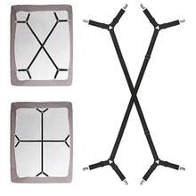 2Pcs/Set  Bed Sheet Clips Blankets Adjustable 4 Corners Fixing Clip Suspenders Straps Non Slip Long Elastic Mattress Quilt sheet