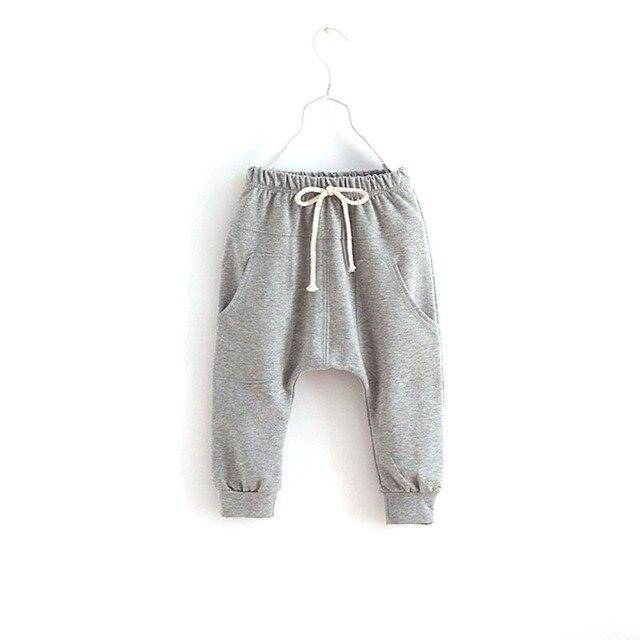 Мальчиков дети детский мягкого хлопка осень свободного покроя шаровары , шорты 2-7Y