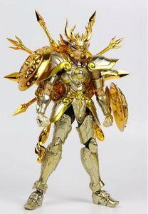 Image 4 - En stock Chuanshen modèle balance Dohko sog âme de dieu or EX figurine en métal armure