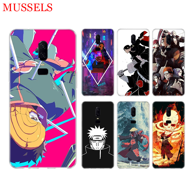 Akatsuki Pain Itachi Phone Back Case for font b OnePlus b font font b 7 b