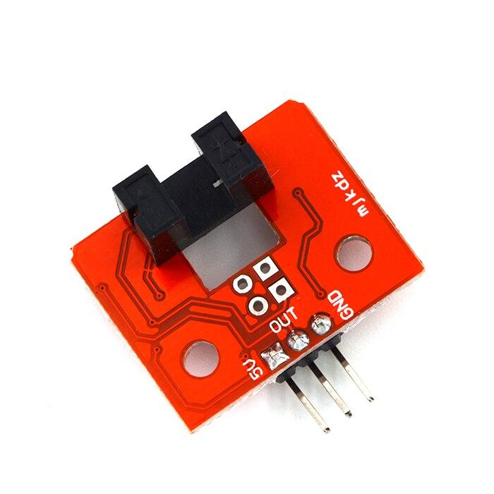 2pcs Speed Measurement Module Encoder Speed Photoelectric Encoder Pulse Output Module Smart Car Optical code disc For Motor Test