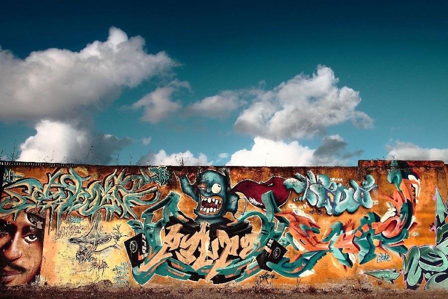 Unduh 880 Koleksi Gambar Grafiti Pemandangan Terbaik Gratis HD