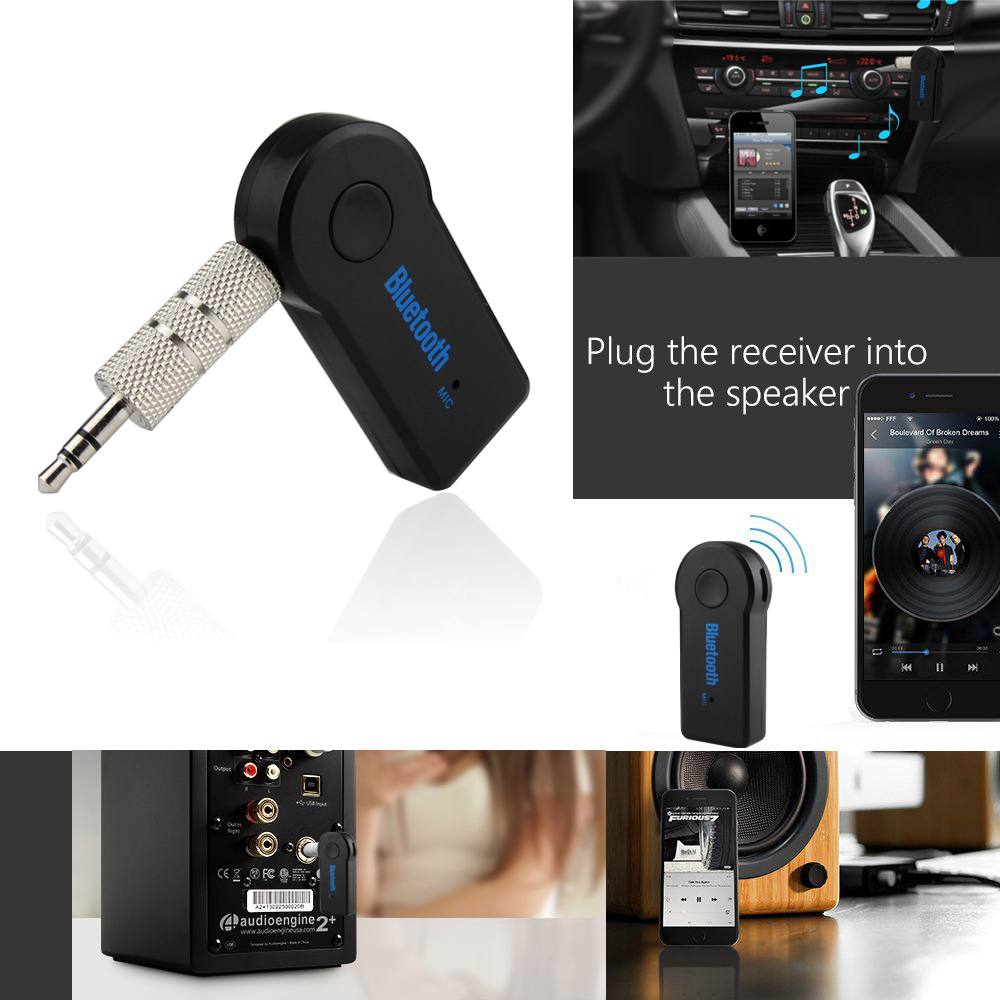 Aliexpress.com : Buy 2017 Handfree Car Bluetooth Music Receiver Universal 3.5mm Streaming A2DP